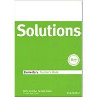 Maturita Solutions Elementary Techer's Book - Kniha