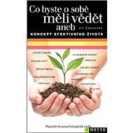 Co byste o sobě měli vědět: aneb Koncept efektivního života - Kniha