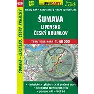 Šumava, Lipensko, Český Krumlov 1:40 000: 436 - Kniha