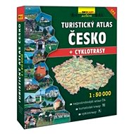 Turistický atlas Česko + cyklotrasy 1:50 000 - Kniha