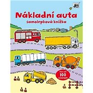 Nákladní auta: Samolepková knížka - Kniha