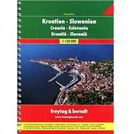 AA Chorvatsko-Slovinsko A4 atlas 1:150 000 - Kniha