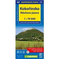 Kokořínsko, Máchovo jezero 1:70 000: Cykloturistická mapa č. 107 - Kniha