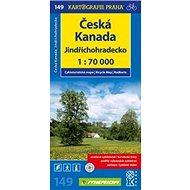 Česká Kanada, Jindřichohradecko 1:70 000: Cykloturistická mapa č. 149 - Kniha