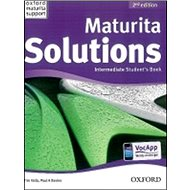 Maturita Solutions Intermediate Student´s Book Czech Edition: 2nd Edition - Kniha