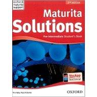 Maturita Solutions Pre-Intermediate Student´s Book Czech Edition: 2nd Edition