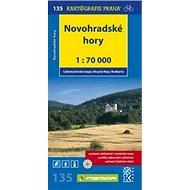 Novohradské hory 1: 70 000: č. 135 - Cyklomapa - Kniha