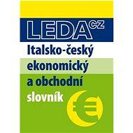 Italsko-český ekonomický a obchodní slovník - Kniha