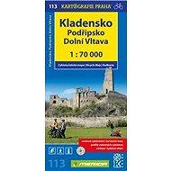 Kladensko, Podřipsko, Dolní Vltava 1: 70 0000: Cykloturistická mapa 113 - Kniha