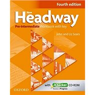 New Headway Pre-Intermediate Workbook Fourth Edition with Key + iChecker CD-rom - Kniha
