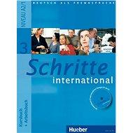 Schritte International 3 Paket Kursbuch + Arbeitsbuch mit Audio-CD + Gloss. - Kniha