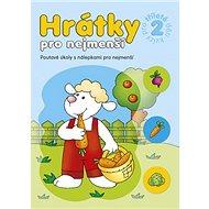 Hrátky pro nejmenší Kvízy pro tříleté děti 2: Poutavé úkoly s nálepkami pro nejmenší - Kniha