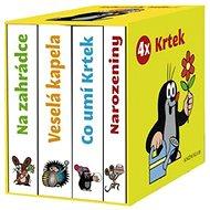 4x Krtek - Kniha