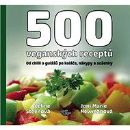 500 veganských receptů - Kniha