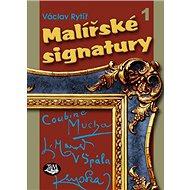 Malířské signatury 1 - Kniha