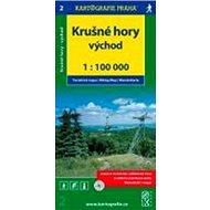 Krušné hory - východ 1:100 000 - Kniha