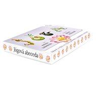 Jógová abeceda: Hravé cviky ve tvaru písmen s popisem cvičení - 27 karet - Kniha