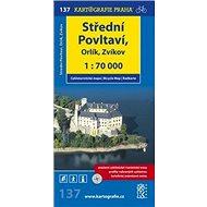 Střední Povltaví, Orlík, Zvíkov: cyklomapa 1:70 000 - Kniha