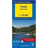 Podyjí Vranovsko: cyklomapa 1: 70 000 - Kniha