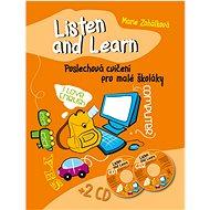 Listen and Learn Poslechová cvičení pro malé školáky + 2 CD - Kniha