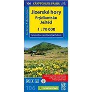 Jizerské hory, Frýdlantsko, Ještěd: 106 cyklomapa - Kniha