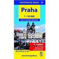 Praha mapa turistických zajímavostí: 1: 10 000 - Kniha