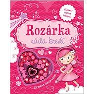 Rozárka ráda kreslí: 25 malých růžových gum!