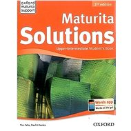 Maturita Solutions Upper-intermediate Student's Book Czech Edition: 2nd Edition - Kniha