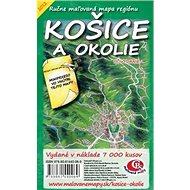 Košice a okolie: Ručne maľovaná mapa regiónu - Kniha
