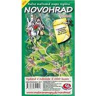 Novohrad: Ručne maľovaná mapa regiónu - Kniha