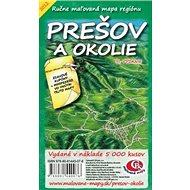 Prešov a okolie: Ručne maľovaná mapa regiónu - Kniha