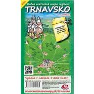 Trnavsko: Ručne maľovaná mapa regiónu - Kniha