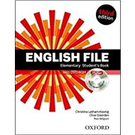 English File Elementary Student´s Book + iTutor DVD-ROM Czech Edition: Third Edition - Kniha