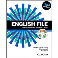 English File Pre-Intermediate Student´s Book + iTutor DVD-ROM: Third Edition - Kniha
