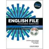 English File Pre-Intermediate Student´s Book + iTutor DVD-ROM Czech Edition: Third Edition - Kniha