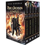 Percy Jackson Komplet 1-5: Zloděj blesku, Moře nestvůr, Prokletí Titánů, Bitva o labyrint, Poslední - Kniha