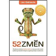 52 změn - Kniha
