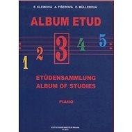 Album etud III - Kniha