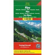 Automapa Alpy 1:500 000 - Kniha