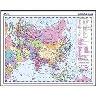 Asie příruční politická mapa - Kniha