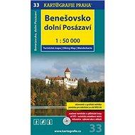 Benešovsko Dolní Posázaví 1:50 000 - Kniha