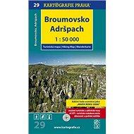 Broumovsko, Adršpach 1:50 000: turistická mapa - Kniha