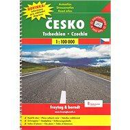 Autoatlas Česká republika 1:100 000: A4 - Kniha