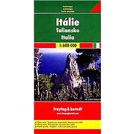 Automapa Itálie 1 : 600 000 - Kniha
