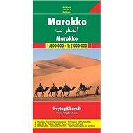 Automapa Maroko 1:800 000 - Kniha