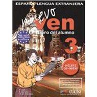 Ven nuevo 3 + CD: španělština pro střední a jazykové školy - Kniha