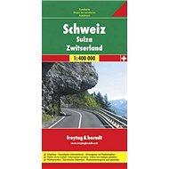 Automapa Švýcarsko 1:400 000 - Kniha