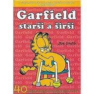 Garfield starší a širší - Kniha