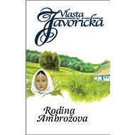 Rodina Ambrožova - Kniha