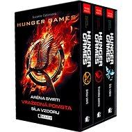 Hunger Games BOX 1-3: Aréna smrti, Vražedná pomsta, Síla vzdoru - Kniha